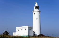 Hurst Point Lighthouse. The lighthouse on Hurst Spit on the Hampshire coast Royalty Free Stock Image