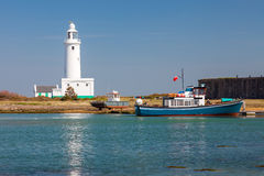 Hurst Point Lighthouse England Royalty Free Stock Photo