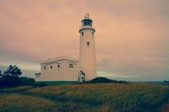 Hurst Point Lighthouse and Hurst Castle Stock Images