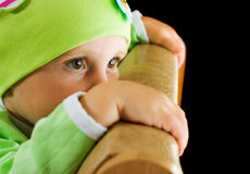 Hurt a child Royalty Free Stock Image