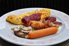 Hurtig frukost Royaltyfri Fotografi