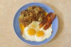 hurtig frukost Arkivfoto