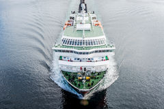 Hurtigruten海运服务在挪威 免版税库存图片