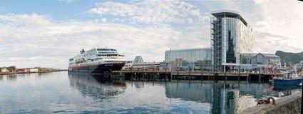 Hurtigruten Стоковое Изображение RF