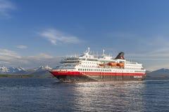 Hurtigruten Royalty-vrije Stock Afbeelding