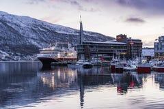 Free Hurtigruten Ship M/S Spitsbergen Tromsö Stock Images - 103858934