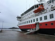 The Hurtigruten-ship MS `Nordkapp` Royalty Free Stock Images