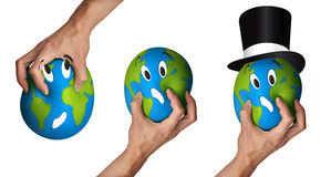 Hurting earth Stock Images