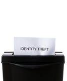 Hurto de identidad Foto de archivo libre de regalías