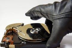 Hurto de los datos Imágenes de archivo libres de regalías