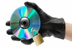 Hurto de los datos fotografía de archivo libre de regalías