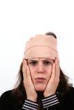 Hurts della testa Fotografia Stock