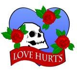 Hurts di amore Fotografie Stock Libere da Diritti