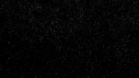 Huruvida bakgrund av snöfall som isoleras på svart För för bruksluma för alfabetisk kanal funktionsläge för matte Sömlös kretsad  stock illustrationer