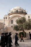 hurva犹太教堂 库存照片