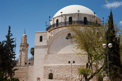 hurva耶路撒冷犹太教堂 免版税库存照片