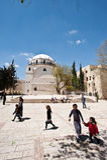 hurva耶路撒冷犹太教堂 库存图片