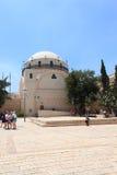 Hurva synagoga och fyrkant i Jerusalem Royaltyfria Bilder