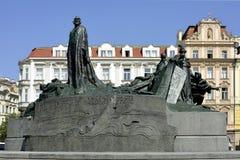 Hus纪念品在布拉格-捷克 库存图片