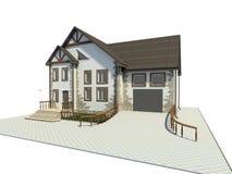 hus royaltyfri illustrationer