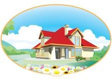 hus Arkivfoto