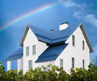 hus Fotografering för Bildbyråer