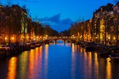 Hus av Amsterdam, Nederländerna Royaltyfri Bild