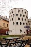 Hus av arkitekten Melnikov i Moskva, Ryssland Arkivfoton