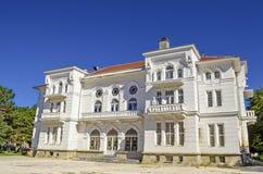 Hus av armé`-Oficerski ` i Bitola Arkivbilder
