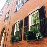 Hus av Beacon Hill Royaltyfria Bilder