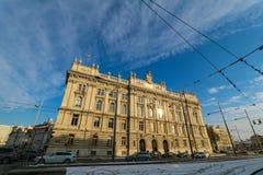 Hus av bransch i Wien Royaltyfri Fotografi