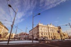 Hus av bransch i Wien Royaltyfria Foton