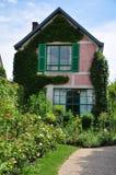 Hus av Claude Monet i Giverny Royaltyfri Fotografi