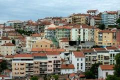 Hus av Coimbra, Portugal royaltyfri foto