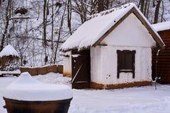 Hus av den forntida Adygsen Fotografering för Bildbyråer