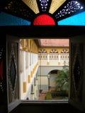 Hus av den hundra Windows Royaltyfria Foton