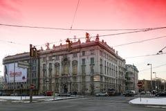 Hus av den wienska merkantila gemenskapen Royaltyfri Foto