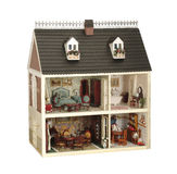 Hus av dockor arkivfoto