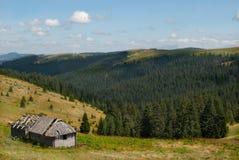 Hus av en herde fotografering för bildbyråer