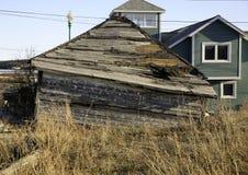 Hus av fasor, Yellowknife, NWT, Kanada Royaltyfria Bilder