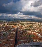 Hus av Florence, Tuscany, Italien Royaltyfria Bilder