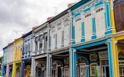 "Hus av Georgetown †""Penang, Malaysia Royaltyfri Foto"