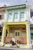 "Hus av Georgetown †""Penang, Malaysia Arkivfoto"
