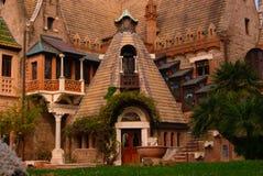 Hus av häxorna royaltyfri bild