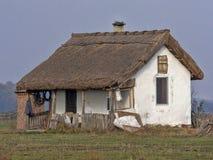 Hus av herdar på den ungerska öknen fotografering för bildbyråer