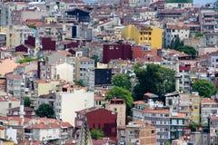Hus av Istanbul fotografering för bildbyråer