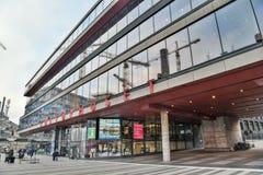 Hus av kultur Kulturhuset i Stockholm, Sverige royaltyfri bild