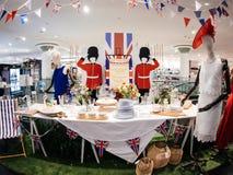 Hus av kungligt bröllop för Fraser lagerlyckönskan Fotografering för Bildbyråer