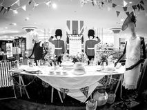 Hus av kungligt bröllop för Fraser lagerlyckönskan Royaltyfria Bilder