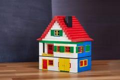 Hus av kvarter arkivbild